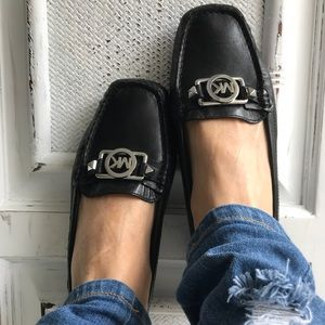 MICHAEL KORS Charm Slip on Leather Loafer